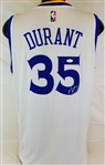 Kevin Durant Signed Adidas Swimgman Golden State Warriors Jersey (JSA COA)