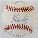 3000 Strikeout Club Signed OML Baseball From Bob Gibsons Collection w/ 11 Signatures! (MLB & PSA)