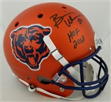 "Brian Urlacher ""HOF 2018"" Signed Full Size Replica Chicago Bears Helmet (JSA Witness COA)"