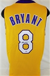 Kobe Bryant Signed Lakers Custom Jersey w/ Vintage Full Name Signature (PSA/DNA COA)