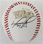 David Ortiz Signed Red Sox Official 2013 World Series Red Sox Baseball (PSA/DNA COA)