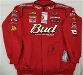 Dale Earnhardt Jr Signed Authentic Budweiser Racing Jacket (JSA COA)