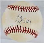 Greg Maddux Signed Official 1995 World Series Baseball (JSA COA)