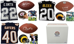 Football Collection Mystery Box - Series 2 - Contains 4 Autographs/2 Hall of Famers per box!