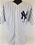 Derek Jeter Signed Yankees Authentic Russell Athletic Jersey (MLB Certified)