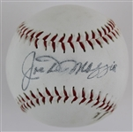 Joe DiMaggio Signed Lincoln Official Adopted League Baseball (JSA LOA)