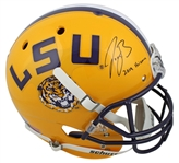 "Joe Burrow ""2019 Heisman"" Signed Full Size Authentic Proline LSU Tigers Helmet (Beckett Witness COA)"