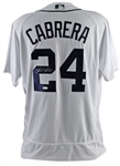 Miguel Cabrera Signed Detroit Tigers Majestic MLB Flex Base Jersey (JSA Witness COA)