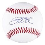 Gerrit Cole Signed OML Baseball (Fanatics Certified)