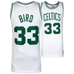 Larry Bird Signed Mitchell & Ness Hardwood Classics 1985-86 Boston Celtics Swingman Jersey (Fanatics Certified)