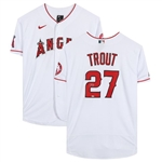 Mike Trout Signed Authentic Los Angeles Angels Nike MLB Jersey (Fanatics Certified)