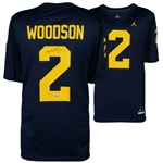 Charles Woodson Signed Michigan Wolverines Jordan Brand Alumni Jersey (Fanatics Certified)