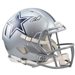 CeeDee Lamb Signed Full Size Speed Authentic Dallas Cowboys Helmet (Fanatics Certified)