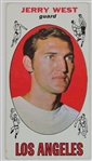 Jerry West LA Lakers 1969 Topps Tall Boy Basketball Card #90
