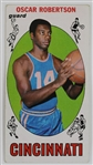 Oscar Robertson Cincinnati Royals 1969 Topps Tall Boy Basketball Card #50
