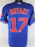 Kris Bryant Signed Chicago Cubs Jersey (Fanatics Certified)