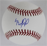 Luis Robert Signed OML Baseball (Beckett Witness COA)