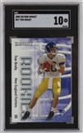Tom Brady New England Patriots 2000 Skybox Impact Rookie Football Card #27 - Graded Gem Mint 10! (SGC)