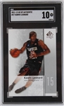 Kawhi Leonard San Diego State Aztecs 2011-12 SP Authentic Rookie Basketball Card #27 - Graded Gem Mint 10! (SGC)