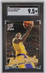 Kobe Bryant Los Angeles Lakers 1996-97 Fleer Ultra Rookie Basketball Card #52 - Graded Mint 9.5! (SGC)