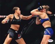 Amanda Nunes Signed UFC 8x10 Photo (PSA/DNA COA)