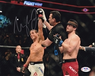 "Urijah Faber ""HOF 17"" Signed UFC 8x10 Photo (PSA/DNA COA)"