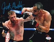 Justin Gaethje Signed UFC 8x10 Photo (PSA/DNA COA)