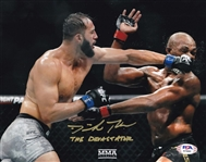 "Dominick Reyes ""The Devastator"" Signed UFC 8x10 Photo (PSA/DNA COA)"
