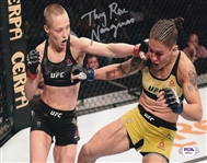 """Thug"" Rose Namajunas Signed UFC 8x10 Photo (PSA/DNA COA)"