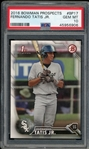 Fernando Tatis Jr. 2016 Bowman Prospects Baseball Card #BP-17 - Graded Gem Mint 10! (PSA)