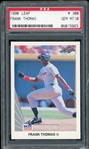 Frank Thomas 1990 Leaf Rookie Baseball Card #414 - Graded Gem Mint 10! (PSA)