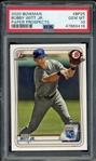 Bobby Witt Jr. 2020 Bowman 1st Bowman Rookie Baseball Card #BFE25 - Graded Gem Mint 10! (PSA)