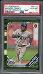 Wander Franco 2019 Bowman Paper Prospects Camo Rookie Baseball Card #BP100 - Graded Gem Mint 10 (PSA)!