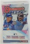 Sealed 2019 Bowmans Best Sealed Hobby Box - Possible Pete Alonso, Fernando Tatis Jr. and Vladimir Guerrero Jr. Rookies!
