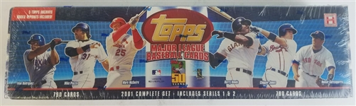 Sealed 2001 Topps Baseball Complete Set