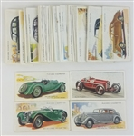 1936 Players Motor Cars Lot of (50) Inc. Aston Martin, Jaguar, Rolls Royce & Alfa-Romeo