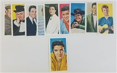 "1962 ABC Minors ""Color Stars"" Complete Set of (10) Inc. Elvis"