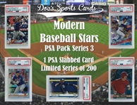 Modern PSA Graded Baseball Card Mystery Pack Series 3