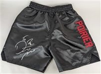 "Dustin Poirier ""The Diamond"" Signed UFC Fighting Trunks (PSA/DNA ITP COA)"
